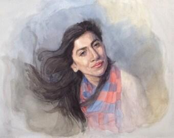 Lost in the Wind - Original fine art