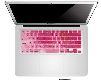 Peinture rose Macbook clavier autocollant clavier Macbook sticker Macbook clavier peau peau Macbook Macbook autocollant sticker Macbook Macbook Air Pro