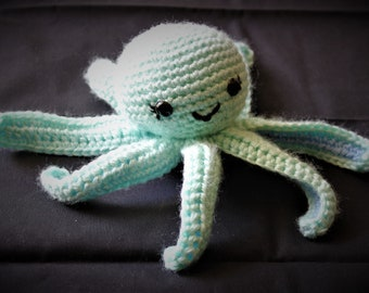 Mini Octopus - Stuffed Animal - Amigurumi