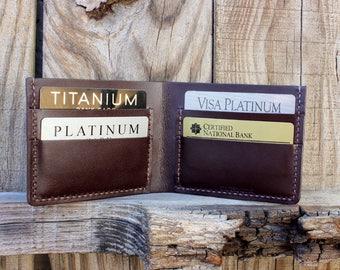 Men's Wallet, Men's Leather Wallet, Personalized Men's Wallet, Bifold Wallet, Personalized Leather Wallet, Mens Billfold, Mens Bifold Wallet