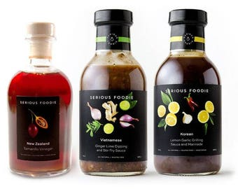 The Serious Foodie Gift Pack - Flavors of Asia Collection