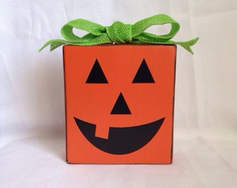 Pumpkin Block