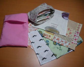 Roses and delicacies kit cotton handkerchiefs, washable