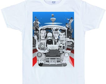 Beat Generation on the road T shirt