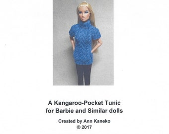Barbie Trendy Tunic Knitting Pattern