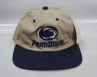 Vintage Signatures Deadstock Penn State Nittany Lions NCAA Snapback OSFA Hat Snapback New With Tag