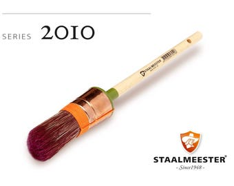 Staalmeester Round Sash Paint Brushes - Series 2010 - 4 sizes