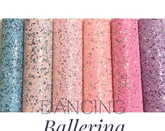 Dancing Ballerina Sequin Glitter - 6 Colours
