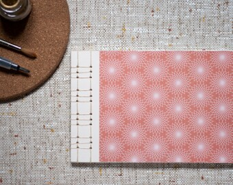 Geometric Japanese Softcover Notebook in A5