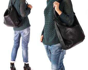 Personalized Bag, Backpack Bag, Everyday Bag, Boho Leather Bag, Convertible Bag, Natural Leather Bag, Backpack Handbag, Slouchy Leather bag