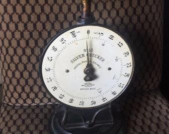 A vintage pair of scales, in working order