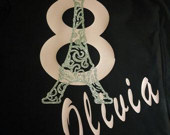 PARIS Themed Custom shirt