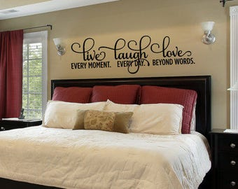 Charmant More Colors. Live Laugh Love, Wall Decor Bedroom ...