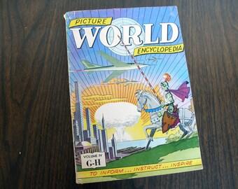 RARE Collectible: V4 Picture World Encyclopedia (1959)