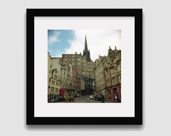 Edinburgh Photography print // Scotland photography // Scottish print // Edinburgh art // Travel photography // Wall art // Wall decor
