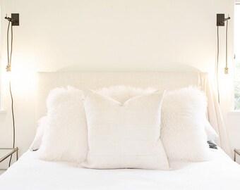 Cream Mossi Pillow Cover
