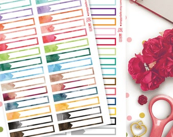 Tiny Appointment Labels Planner Stickers |  Erin Condren Hourly | EC Hourly | Hourly Planner | Functional Stickers