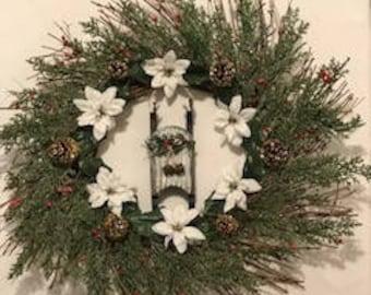 Sled wreath