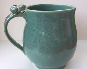 mug with frog