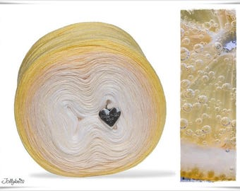 Gradient Yarn Merino Lemon Juice 500m