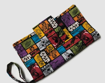 Nappy Diaper Clutch - Star Wars Collage