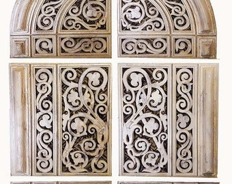 Exquisite Architectural Arch Wall Decor by The Casey Collection