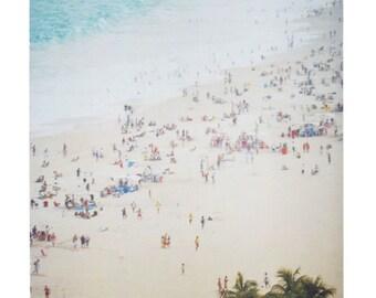 "Brazil Photography Print Polaroid Rio de Janeiro Copacabana Beach Art Matt Schwartz 8""x10"""