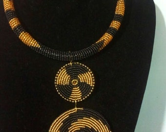 maasai necklace/ beaded necklace / tribal necklace / african necklace