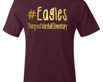 Teacher Shirts, School Shirts, School Mascot Shirt