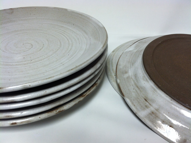 handgefertigte Teller Keramik-Geschirr Teller