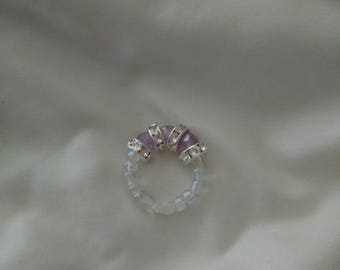 Custom made beaded rings