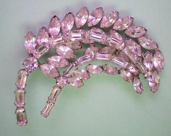 Sparkling Clear Crystal Rhinestone Brooch - 2777