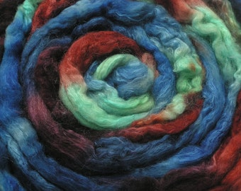 150g Space-dyed  Baby Camel Down/ Silk Top 50/50  -  Volcano
