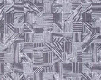 Fat Quarter Sale! - Field Study in Smoke - Noteworthy Collection by Erin McMorris for Free Spirit Fabrics