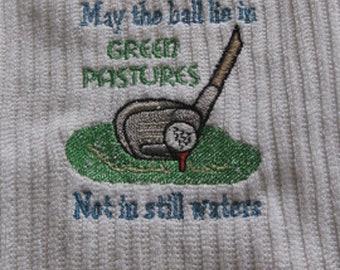 May the Ball.....Golf Towel