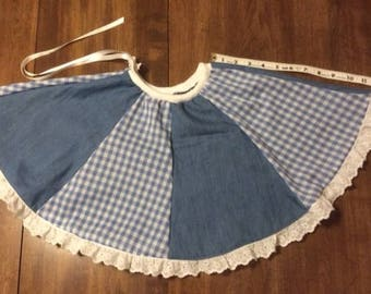 Little girls twirly circle skirt