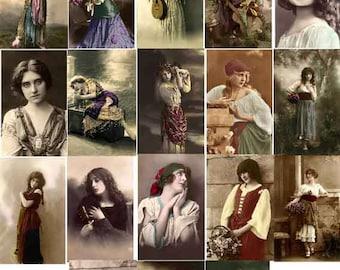 25 RESTORED VINTAGE IMAGES Gypsy Download