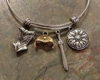 Wonder woman bracelet