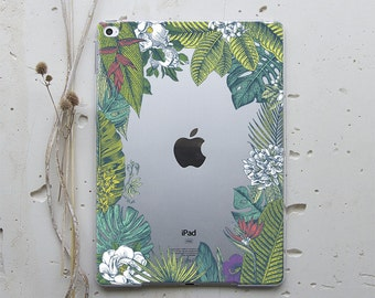 Tropical iPad Mini 4 Floral iPad Mini 2 Case Leaves iPad Air Case Flowers iPad Mini 3 Case iPad 3 Case iPad Pro 12.9 iPad Pro 9.7 WC4038