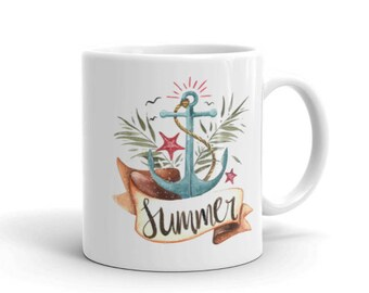 Summer Vibes Nautical Mug
