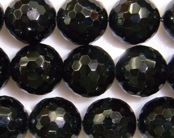 Tourmaline Beads Natural Genuine 8mm Round Cut Black Beads 15''L Semiprecious Gemstone Bead Wholesale Beads Supply