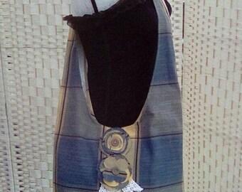 Handmade Cross Body Hobo Style Bag