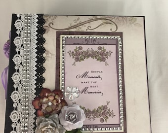Romantic Mini Scrapbook Album
