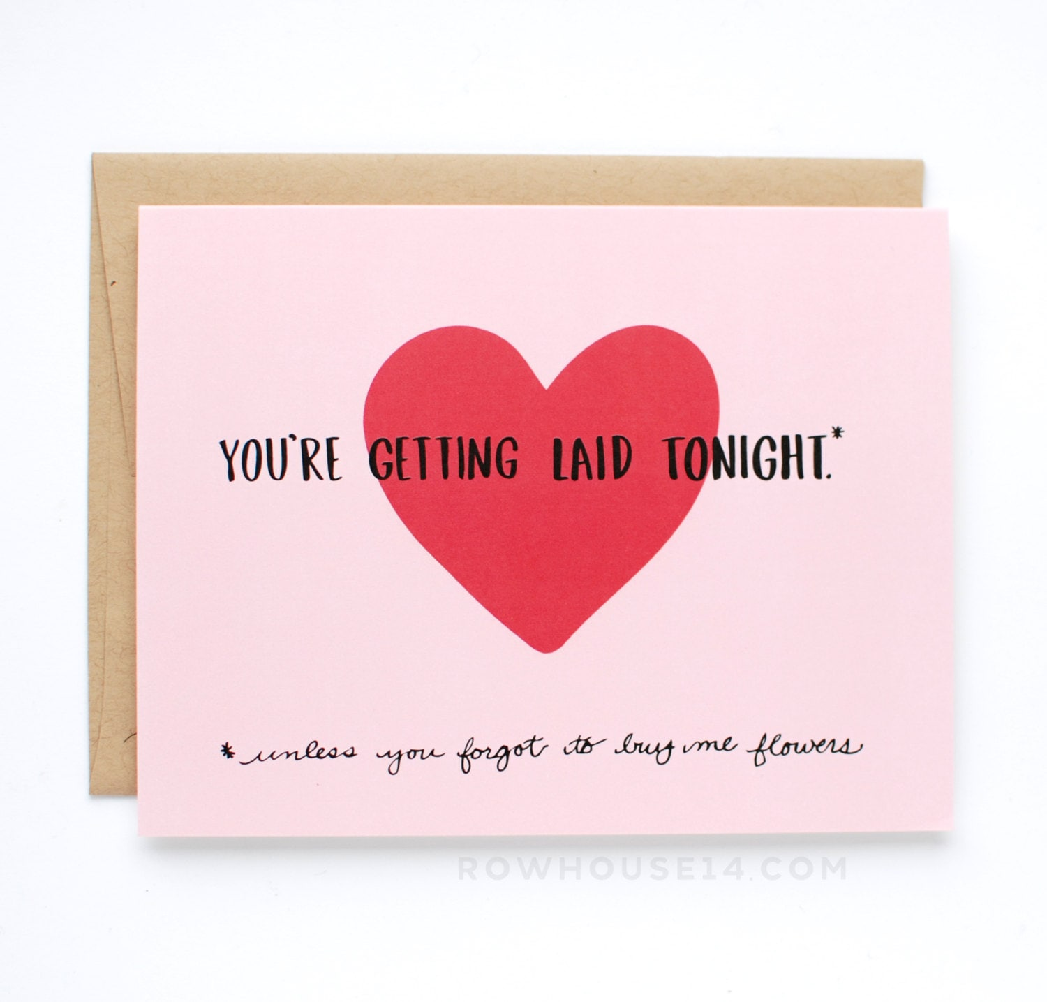 Funny Valentines Card Naughty Valentines Day Card