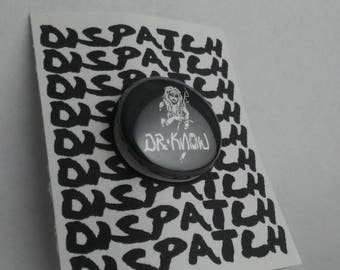 Dr Know Punk Band Button