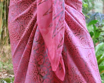 Cover up, Beach Sarong, Pareo, Wrap