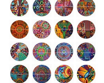Mexican Art Pins Magnets Mexican Art Party Favors Wedding Fridge Magnets Gift Sets