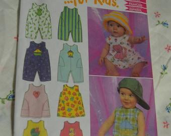New Look 6983 Infants Romper or Jumper Sewing Pattern - UNCUT - Size NB - L