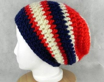 Beanie * LONGBEANIE * Crochet cap * UNISEX * SLOUCH * * handmade