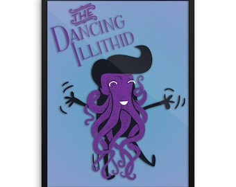 The Dancing Illithid Framed Poster